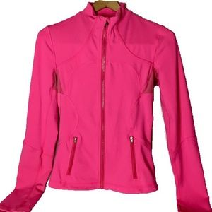 lululemon Forme Jacket Size 4-Pink
